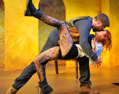 THE TAMING OF THE SHREW (Philadelphia Shakespeare Theatre): A woman moved